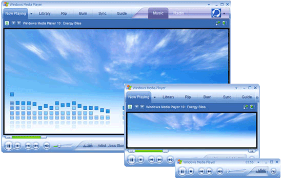 Windows Media Player v.10